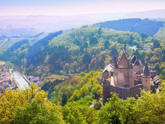 Luna de miel en Luxemburgo: un país de cuento de hadas
