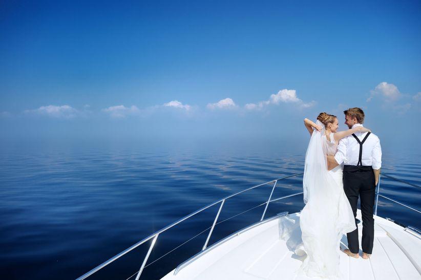 Casarse con el inmenso mar como testigo