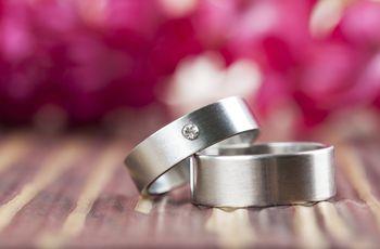 Alianzas de boda de titanio: descubre todas sus ventajas
