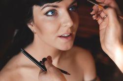 Maquillaje de novia para ojos azules