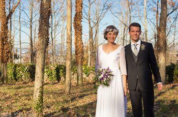 Anna y Guillem, una romántica boda de invierno