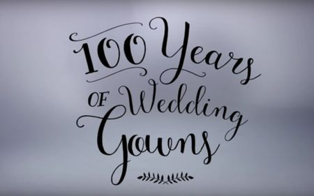 100 años de vestidos de novia. ¡Descubre cómo han cambiado las tendencias!