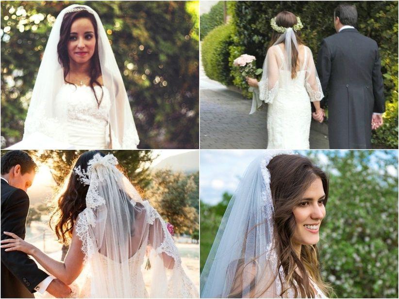 14ca41c2e2 Peinados con velo para novias de todos los estilos