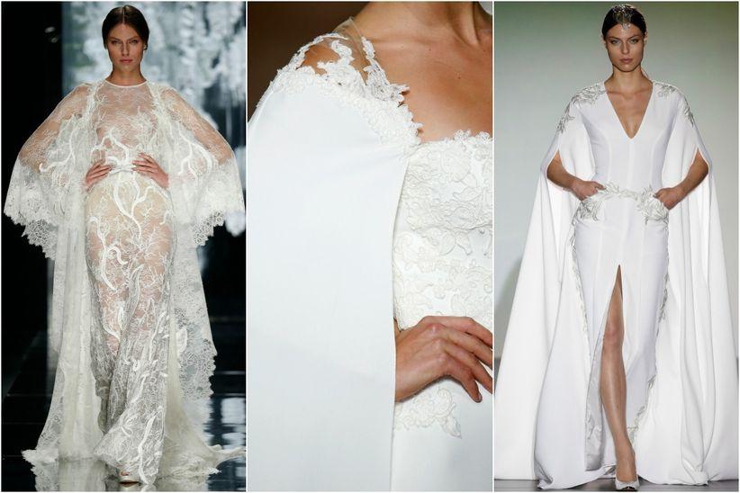 capas para novias: el complemento más estiloso