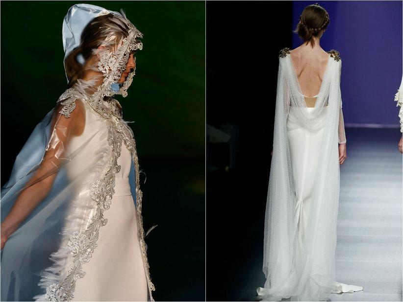 3f441a1662 Capas para novias  el complemento más estiloso