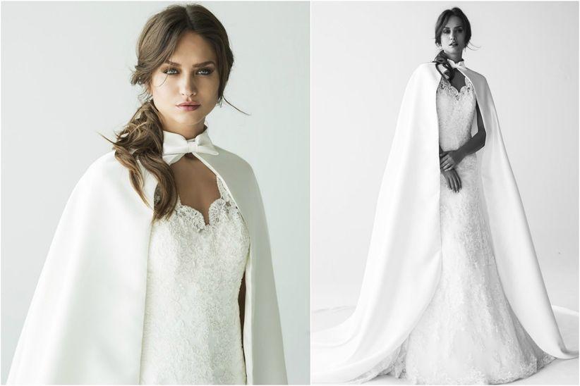 Resultado de imagen de capa vestido novia