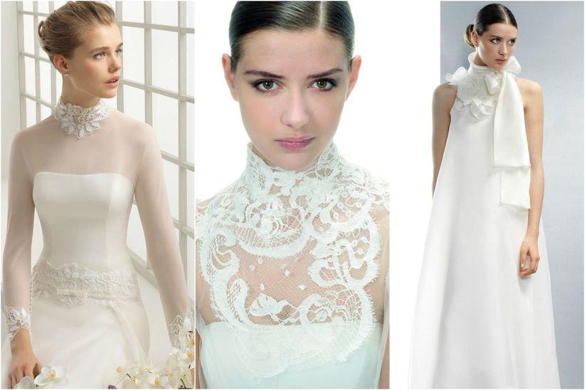 tipos de escotes de los vestidos de novia