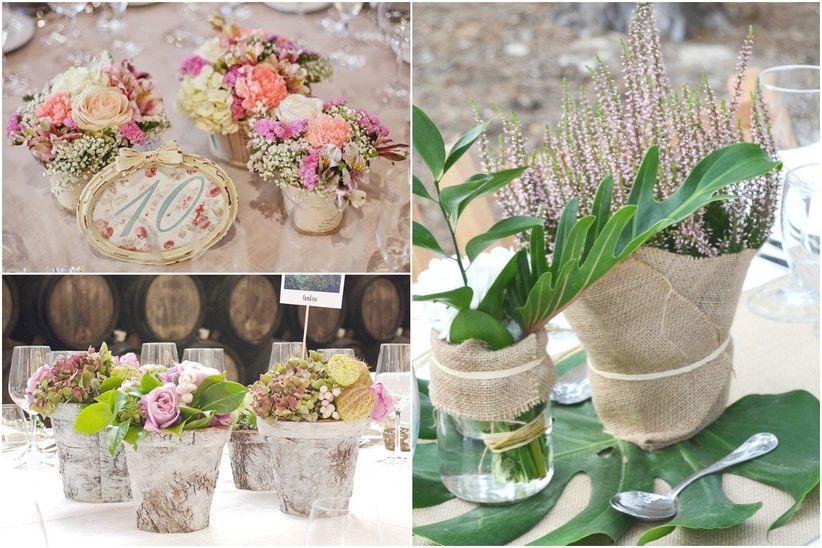 Centros de mesa de flores artificiales para bodas7 car for Centros de mesa artificiales