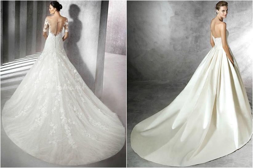 b84364769 7 tipos de colas para el vestido de novia ¿las conoces todas