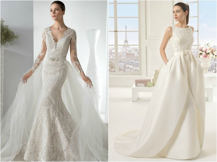 74cc1a7cf Elige la cola de tu vestido de novia  la guía definitiva