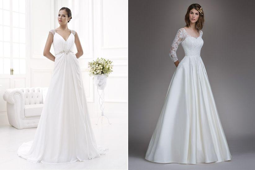 14c6f87fbc ... vestidos de novia que además en su página web marcan el precio de sus  modelos