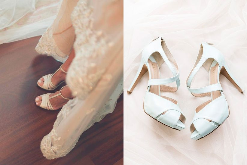 tendencias 2017 en zapatos de novia