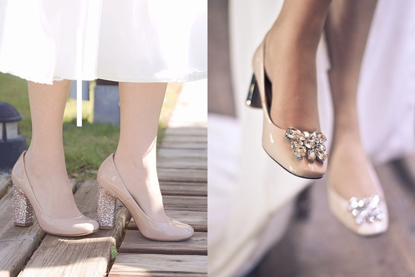 tendencias 2017 en zapatos de novia