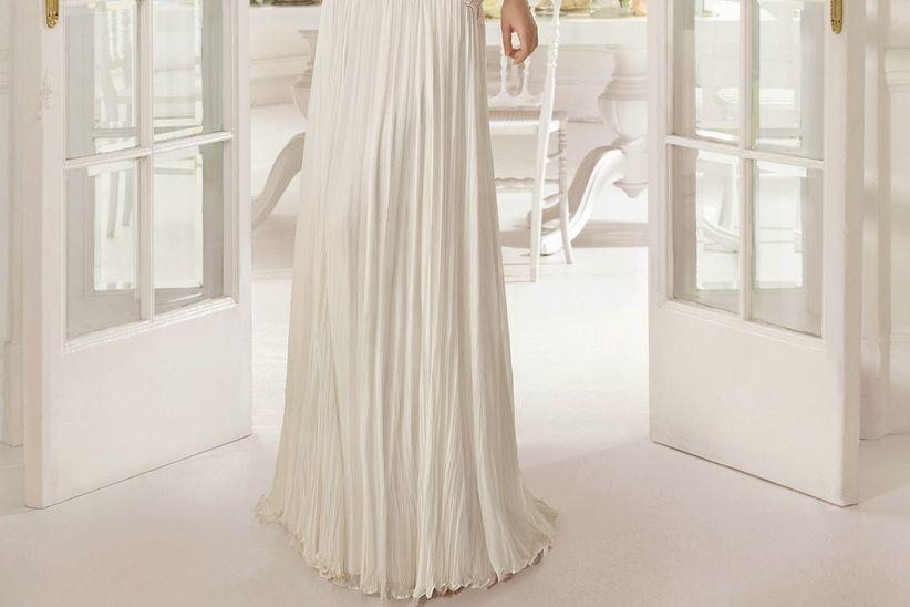 diccionario de tejidos para el vestido de novia