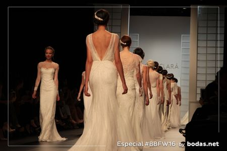 Sigue en directo el desfile de Rosa Clará 2017 en la Barcelona Bridal Fashion Week