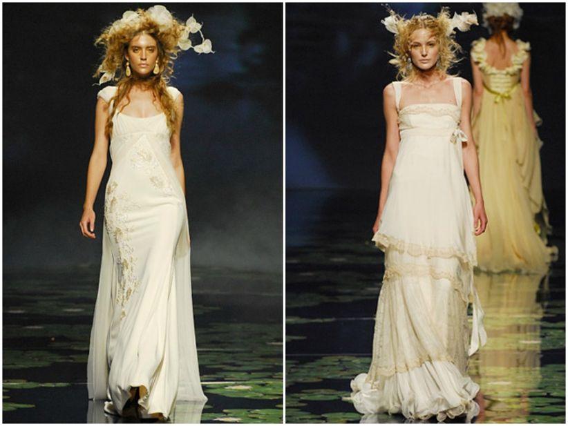 vestidos de novia de victorio & lucchino para el 2010