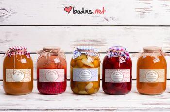 """""""Amor en conserva"""". Etiquetas para tus tarros de mermelada DIY"""