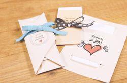 Lágrimas de felicidad: haz tu propio kit de pañuelos con estos fantásticos DIY