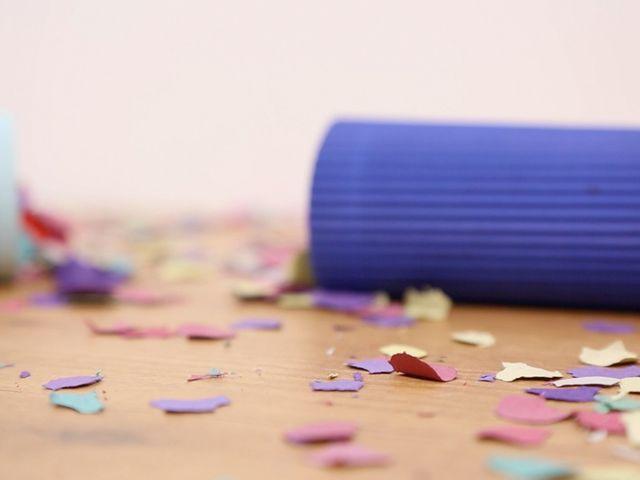 ¡Crea tus propios lanza confeti para la boda!