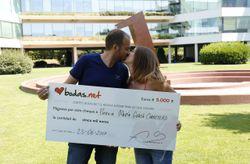 5000 euros para disfrutar después de su boda: ¡conoce a los nuevos ganadores del sorteo de Bodas.net!