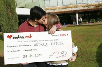 """Amor, felicidad y ¡5000 euros! tras el """"sí, quiero"""": los nuevos ganadores del sorteo de Bodas.net"""