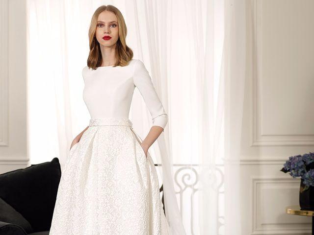 Nueva colección de vestidos de novia de Cabotine