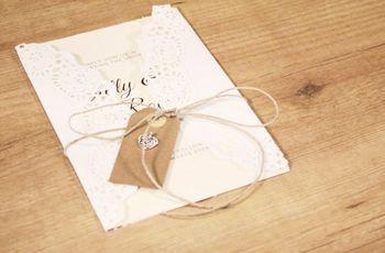 Papelería nupcial DIY: ¡personalizad vuestras invitaciones de boda!
