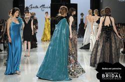 Vestidos Carla Ruiz 2018:  destellos de color con inspiración barroca