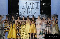 Vestidos de fiesta Sonia Peña 2018: las vanguardias del siglo XX como fuente de inspiración