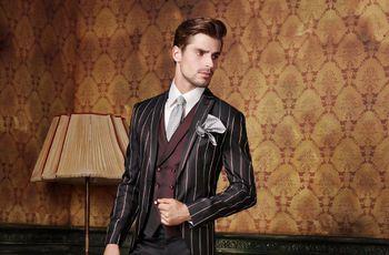 Trajes de novio Maestrami 2018: elegancia y vanguardia