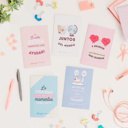 Las nuevas tarjetas Mr. Wonderful para Regalo Azul, de UNICEF, el mejor recuerdo para tus invitados