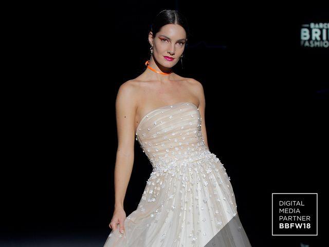 Vestidos de novia Marylise 2019: elegancia moderna