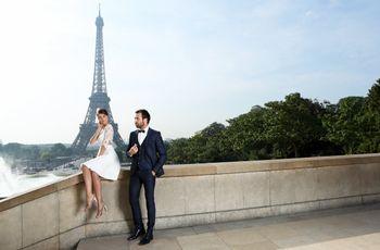 Descubre la colección completa de vestidos de novia Cymbeline 2019, inspirada en la ciudad del amor