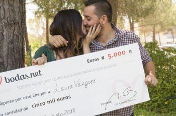 ¡Ultimando los detalles de su boda y con los 5000 euros del sorteo mensual de Bodas.net!