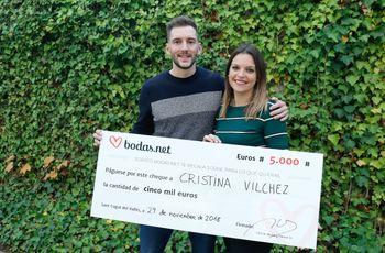 5000 euros para una boda de cuento de hadas. ¡Descubrid a la nueva pareja ganadora del sorteo de Bodas.net!