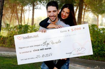 5000 euros para un banquete nupcial exquisito: ¡conoced a los nuevos ganadores del sorteo de Bodas.net!