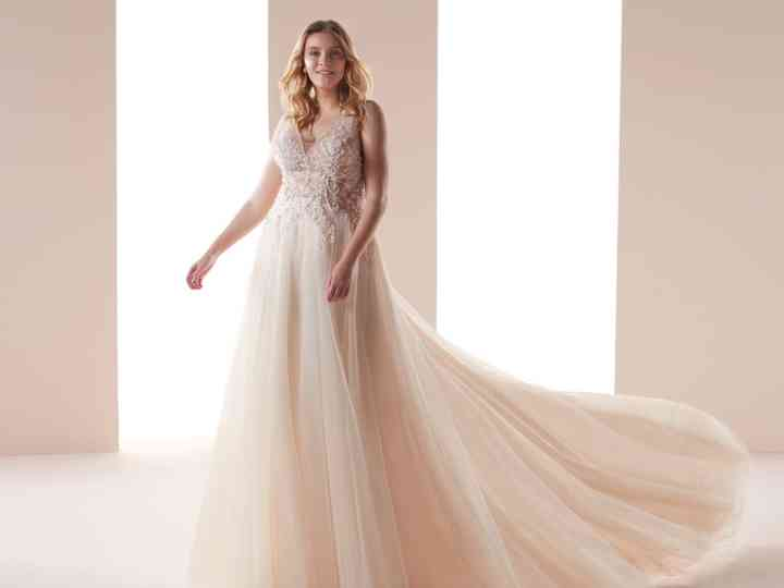 al por mayor en línea nuevo lanzamiento precio bajo Vestidos Nicole Curves 2019: las novias plus size más bellas y ...