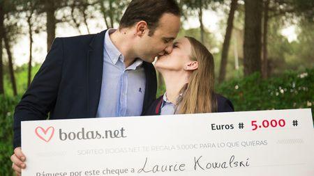 5000 euros para la boda perfecta. ¡Conoced a los nuevos ganadores del sorteo de Bodas.net!
