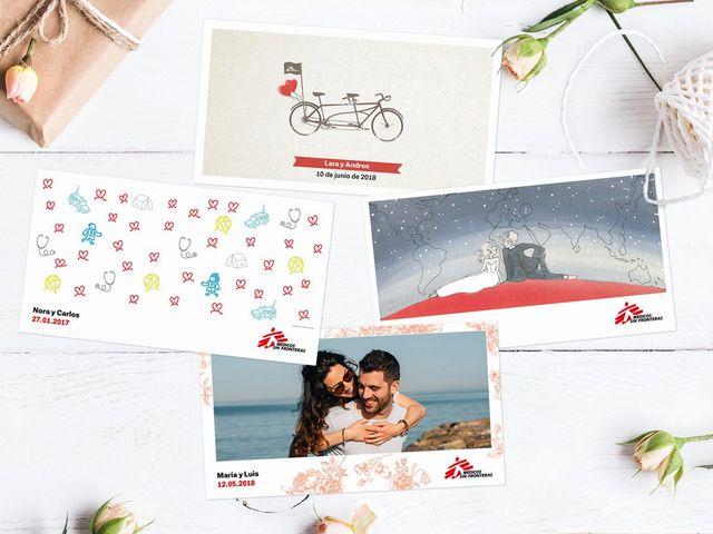 Médicos Sin Fronteras y el mejor regalo de boda solidario. ¡Descubridlo!