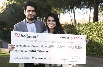5000 euros para la boda perfecta. ¡Conoce a los nuevos ganadores del sorteo de Bodas.net!