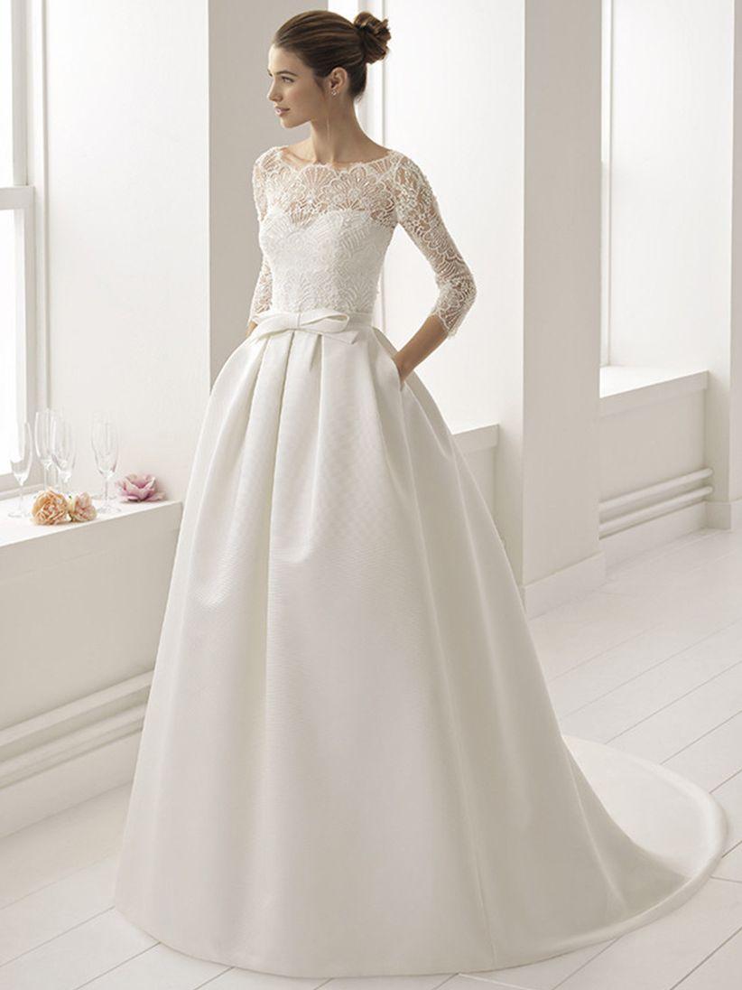17af7e74e2 Qué tipo de cinturón queda mejor con tu vestido de novia y con tu ...