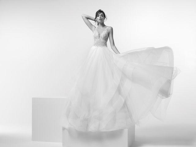 Los vestidos de Alessandra Rinaudo para el próximo año son una oda a la feminidad