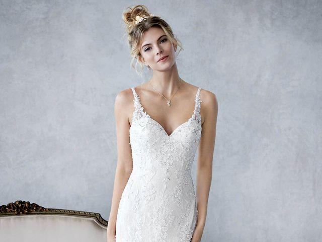 Vestidos de novia Ella Rosa by Kenneth Winston 2018: romanticismo con un toque de modernidad