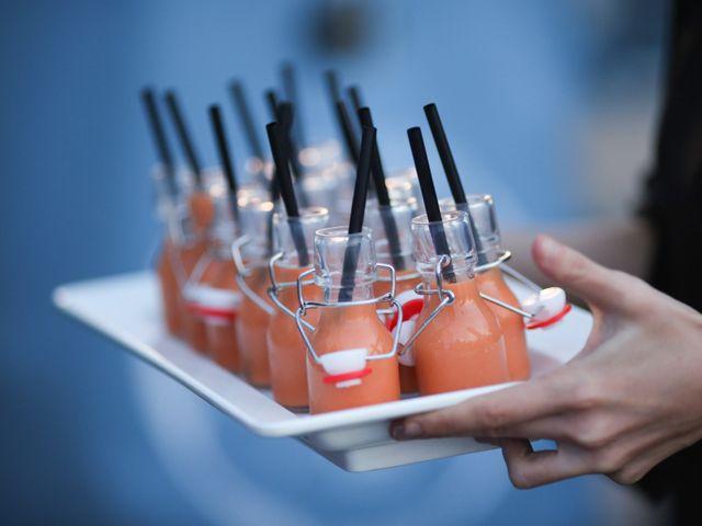"""Decid """"sí"""" a los gazpachos de sabores en vuestra boda"""