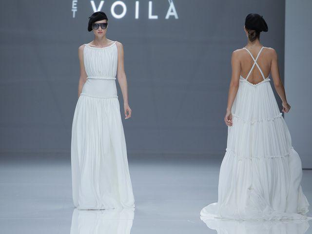 Vestidos de novia plisados: un clásico muy actual