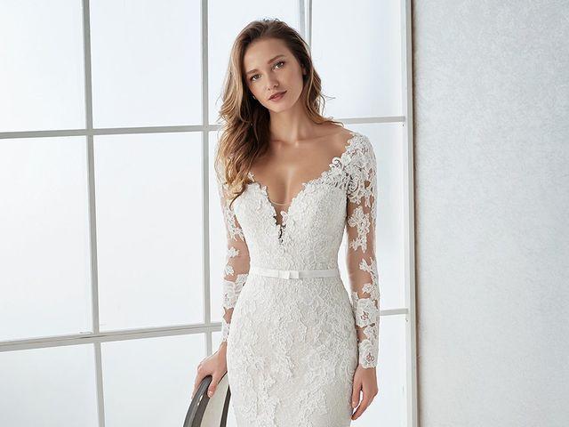 Vestidos de novia White One 2018: feminidad y romanticismo en estado puro
