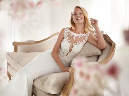 Vestidos de novia Colet 2019: un sueño muy real envuelto en encajes y pedrería
