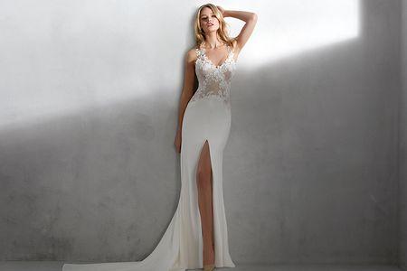 24 vestidos de novia con tirantes