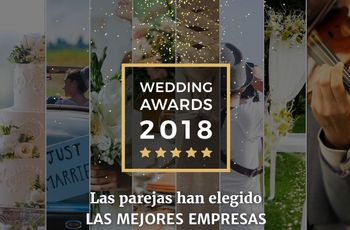 ¡No os perdáis a los ganadores de los Wedding Awards 2018 de Bodas.net!
