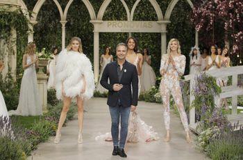 Pronovias deslumbra con sus colecciones para las novias de 2019